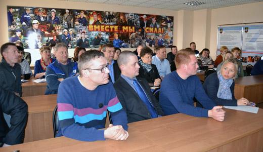 Встреча с российскими профсоюзников